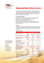 Singlemode Optical Fiber 09/125/500