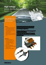 High voltage power distribution unit
