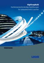 HighTempBuild  Hochtemperaturbeständige Kabellösungen für Gebäudetechnik & Leuchten