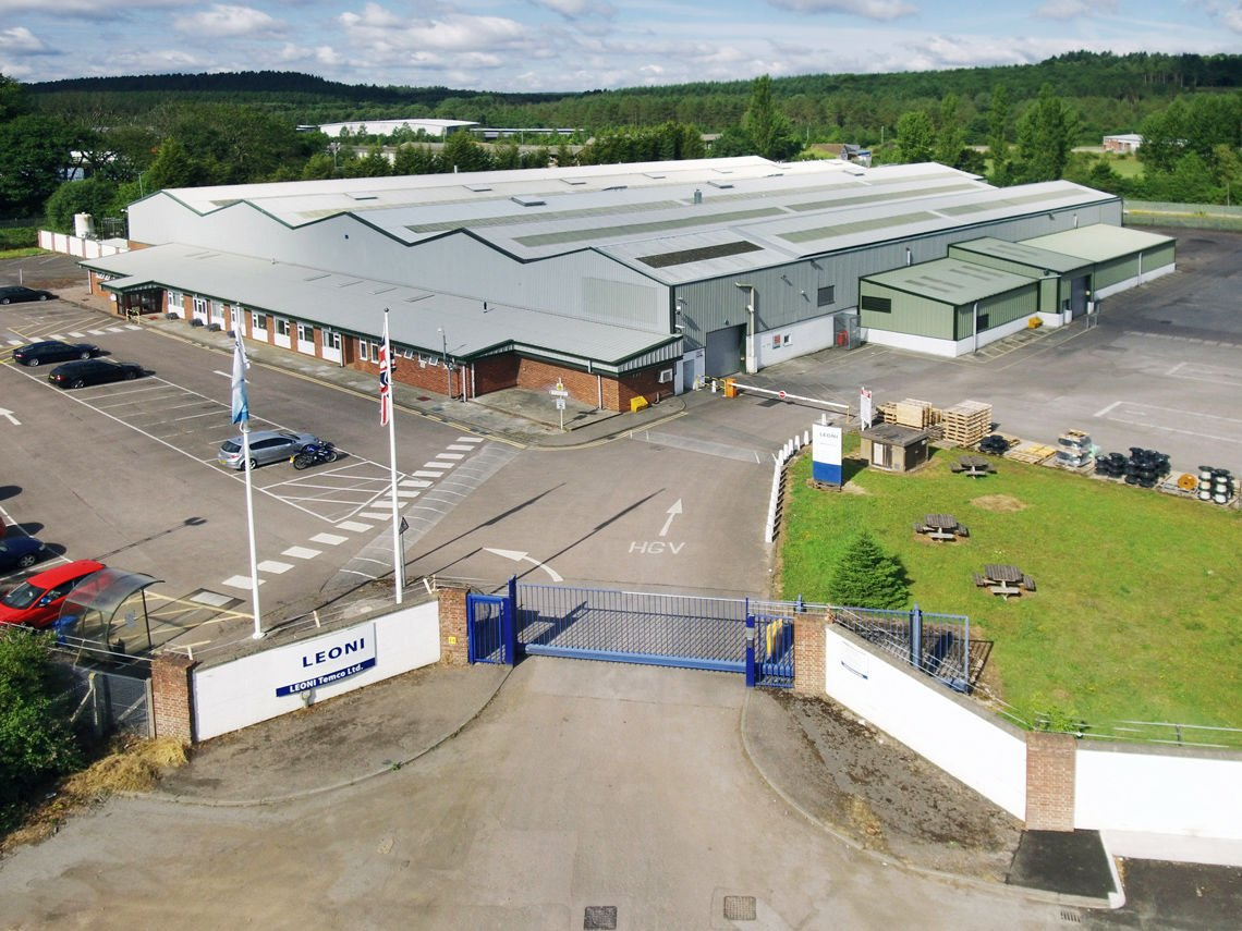 LEONI plant Cinderford, Great Britain