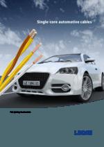 Single-core automotive cables