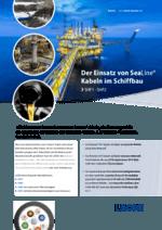 Einsatz von SeaLine® Kabeln im Schiffbau