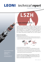 Installation of LSZH sheathed cables