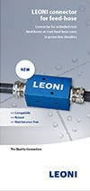 LEONI connector for feed-hose