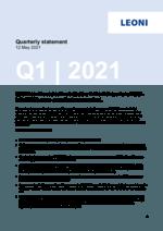 Quarterly statement Q1 2021