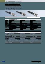 FiberConnect® PCF-Stecker mit Ferrulen aus Metall, Keramik oder Kunststoff