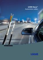 LEONI Dacar® – data & coaxial cables – LEONI