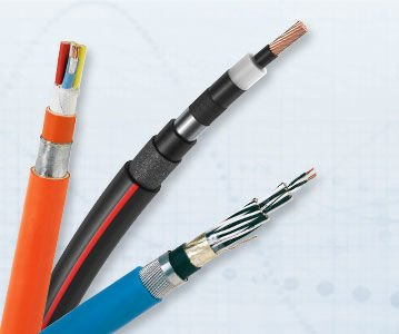 Wires, optical fibers, cables, cable systems, services: Our