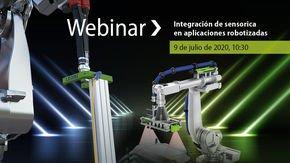"""Seminario on-line: """"Integración de sensorica en aplicaciones robotizadas"""""""