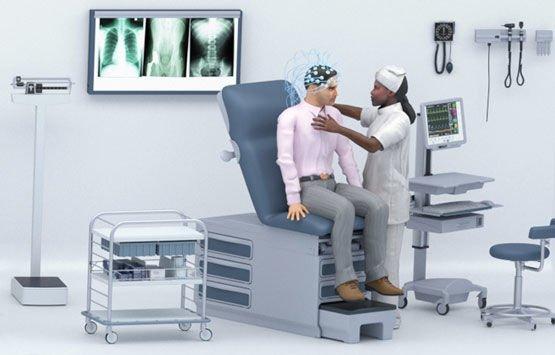ECG EEG MEG device