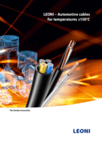 LEONI – Automotive cables for temperatures ≥150 °C