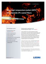 Ultra high-temperature jacket (UHTJ)