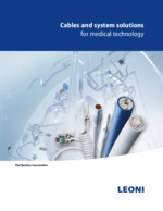 Cables and system solutions for medical technology