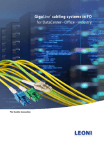 GigaLine® fiber optic cabling systems