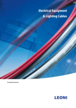 Electrical equipment & lighting cables