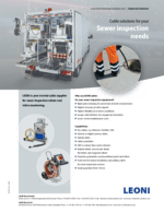 LEONI Sewer inspection solutions