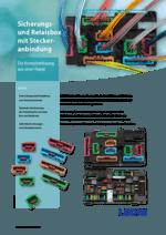 Sicherungs- und Relaisbox mit Steckeranbindung