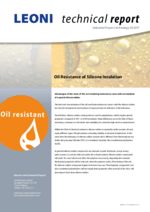 Oil Resistance of Silicone Insulation