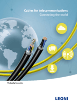 Cables for telecommunications