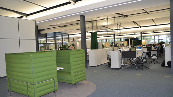 Renovated offices in Kitzingen