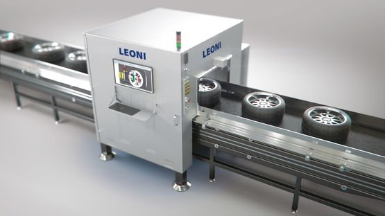 Leoni system for validating wheels and tires