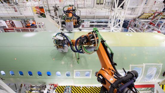 Kalibriersystem für Roboterwerkzeuge bringt Präzision in die Fertigungsautomatisierung der Luft- und Raumfahrtindustrie