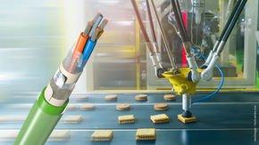 Leoni desarrolla un cable de recubrimiento doble para la industria alimentaria