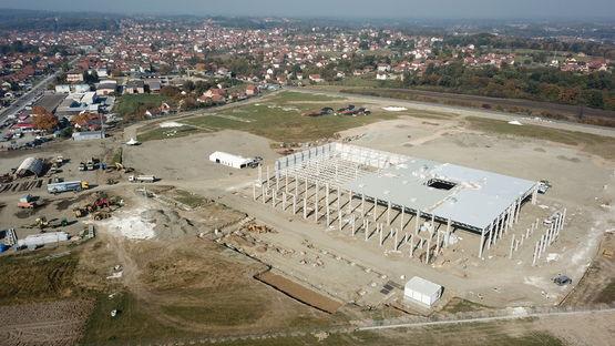 Leoni new plant in Kraljevo