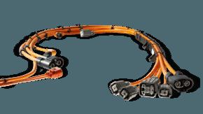 Hochvolt-Kabelsatz für Brennstoffzellen-Fahrzeug