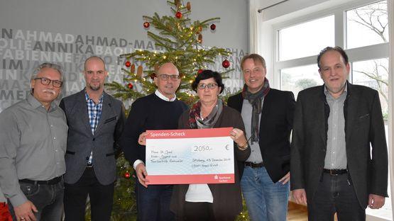 Spende der Leoni Kerpen GmbH an das Haus St. Josef in Eschweiler