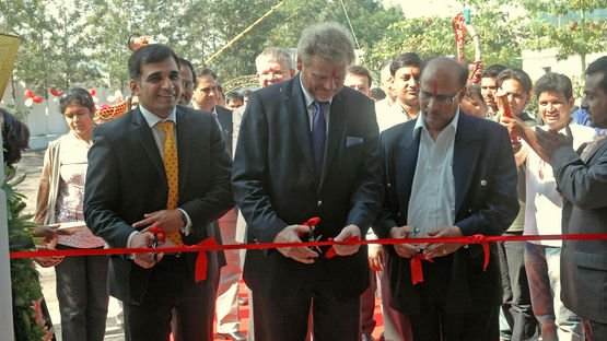 Opening of the new site in India