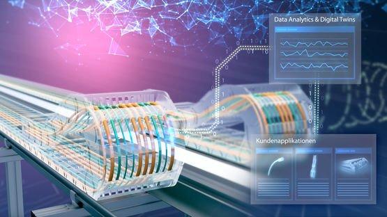 Intelligente Kabelsysteme von Leoni