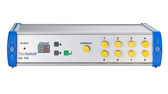 FiberSwitch® - Bestelloption Front Control Panel