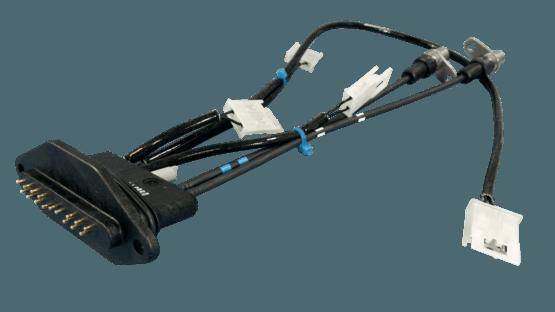 Kabelsatz mit umspritztem Temperatursensor