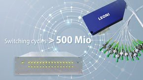 LEONI fiber optical switches withstand 500 million cycles