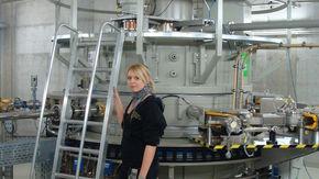 Industrial sterilisation plant