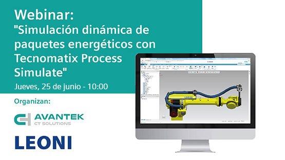 """Webinar: """"Simulación dinámica de paquetes energéticos con Tecnomatix Process Simulate"""""""