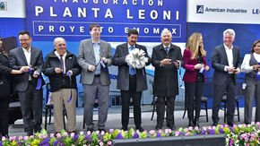 Leoni celebrated its 20th anniversary at Cuauhtémoc in Chihuahua, Mexico