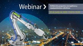 Seminario on-line: Definición paquetes energéticos y equipamientos robóticos