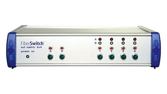 FiberSwitch eol matrix 2x4