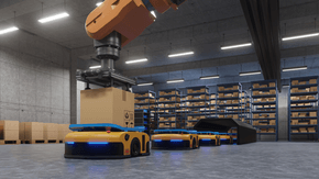 Leoni a partner for next generation warehouse robot