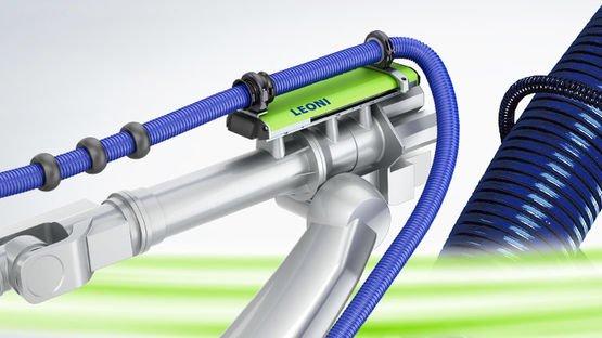Robot cable management solution - LEONI LSH 3 Dresspack