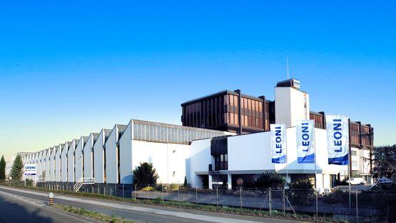 Leoni Schweiz AG mit Sitz in Däniken, Schweiz