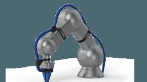Protégez votre investissement robotique avec les systèmes de gestion de câbles LEONI