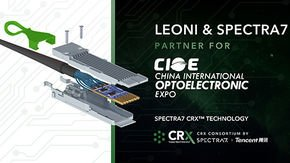LEONI and Spectra7 demonstrate CRXTM Active Copper Cables (ACC) technology at CIOE