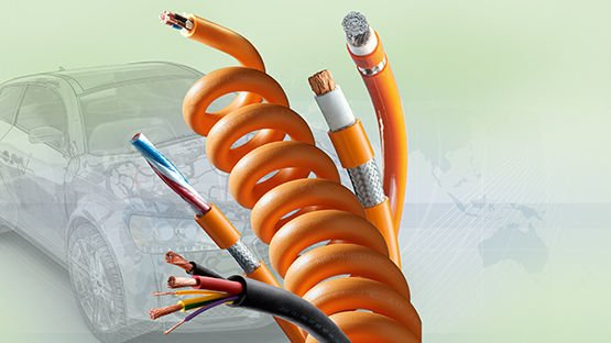 Cables offering for electromobility