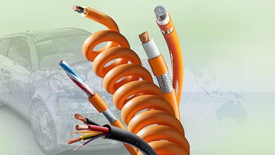 Kabelportfolio für Elektromobilität