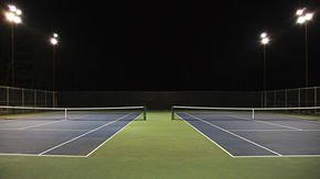 LEONI cable brings light to world tennis competition