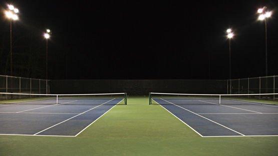 Tennis lighting