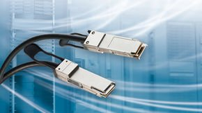 Leoni transfers 200 G via copper with passive QSFP connectors